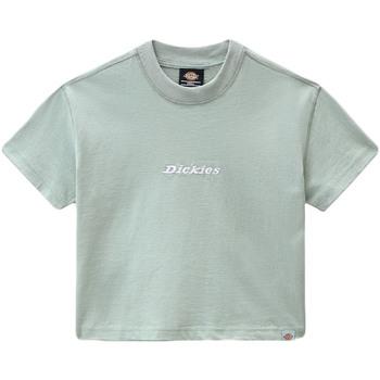 Îmbracaminte Femei Tricouri mânecă scurtă Dickies DK0A4XBAB871 Verde
