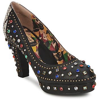 Pantofi Femei Pantofi cu toc Miss L'Fire SHOWGIRL Negru