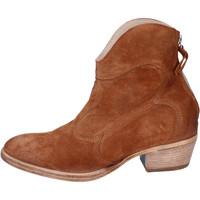 Pantofi Femei Botine Moma BH809 Maro