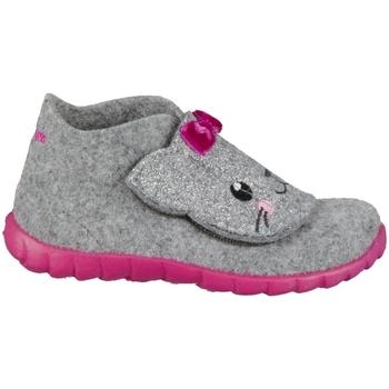 Pantofi Copii Papuci de casă Superfit Happy Gri