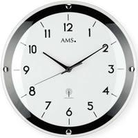 Casa Ceasuri Ams 5906, Quartz, White, Analogue, Modern Alb