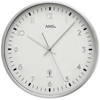Casa Ceasuri Ams 5914, Quartz, White, Analogue, Modern Alb