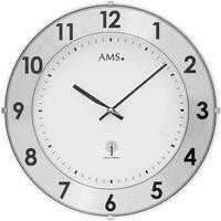 Casa Ceasuri Ams 5948, Quartz, White/Silver, Analogue, Modern Altă culoare