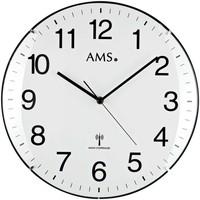 Casa Ceasuri Ams 5960, Quartz, White, Analogue, Modern Alb
