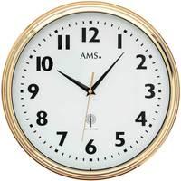 Casa Ceasuri Ams 5963, Quartz, White, Analogue, Modern Alb