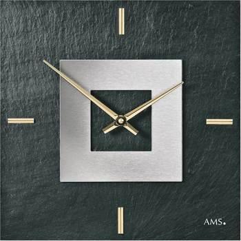 Casa Ceasuri Ams 9525, Quartz, Black, Analogue, Modern Negru