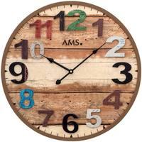 Casa Ceasuri Ams 9539, Quartz, Brown, Analogue, Modern Maro