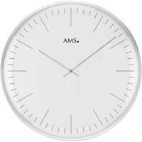 Casa Ceasuri Ams 9540, Quartz, White, Analogue, Modern Alb