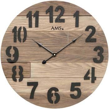 Casa Ceasuri Ams 9569, Quartz, Brown, Analogue, Classic Maro