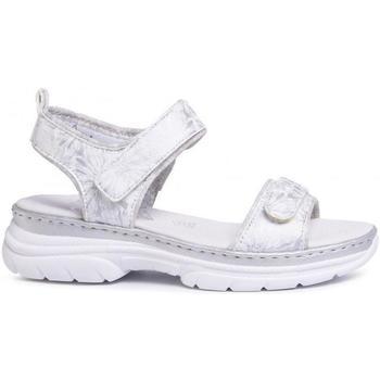 Pantofi Femei Sandale  Rieker Weiss Sandals White