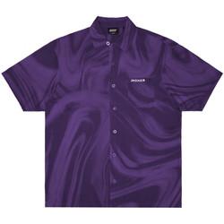 Îmbracaminte Bărbați Cămăsi mânecă scurtă Jacker Purple potion violet