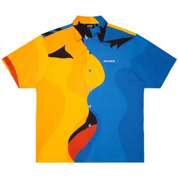 Îmbracaminte Bărbați Cămăsi mânecă scurtă Jacker Color passion Multicolor
