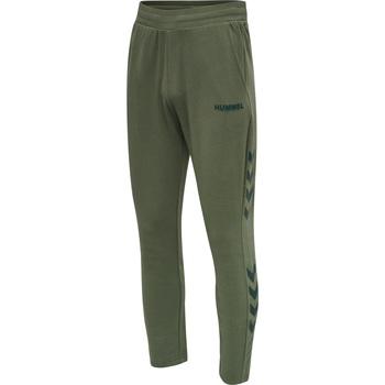 Îmbracaminte Bărbați Pantaloni de trening Hummel Jogging  hmlLegacy Tapered vert/noir