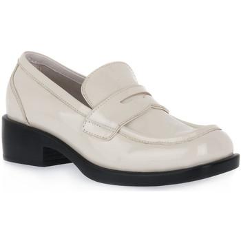 Pantofi Femei Mocasini Jeffrey Campbell IVO SORBONNE Bianco
