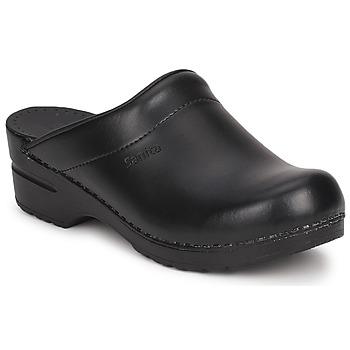 Pantofi Femei Saboti Sanita SONJA OPEN Negru