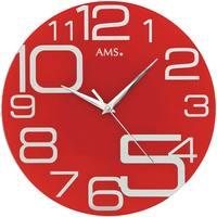 Casa Ceasuri Ams 9462, Quartz, Red, Analogue, Modern roșu