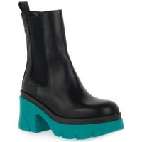 Pantofi Femei Botine Priv Lab MARINO BEATLES Blu