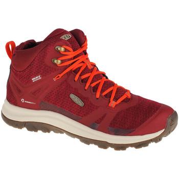 Pantofi Femei Drumetie și trekking Keen Terradora II Wp Rouge