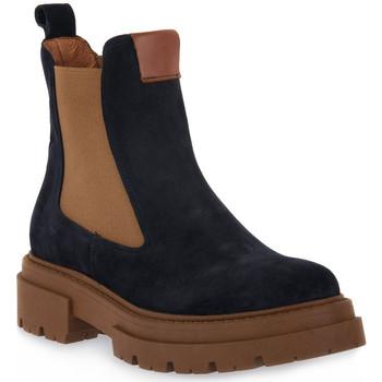 Pantofi Femei Botine Priv Lab 130C BLU CAMOSCIO Blu