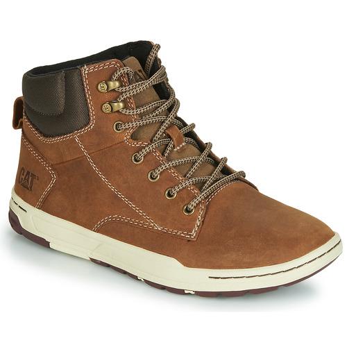 Pantofi Bărbați Pantofi sport stil gheata Caterpillar COLFAX MID Maro