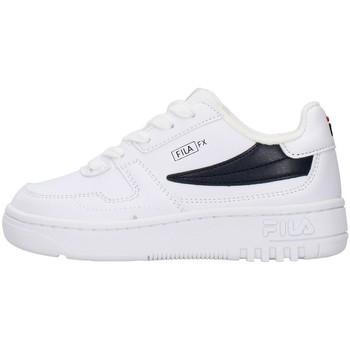 Pantofi Băieți Pantofi sport Casual Fila 1011351 WHITE
