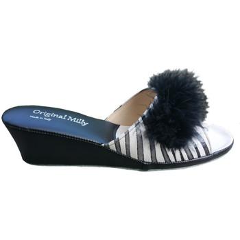 Pantofi Femei Papuci de vară Milly MILLY102zebner nero