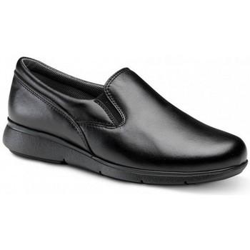 Pantofi Mocasini Feliz Caminar ZAPATO LABORAL UNISEX BERTA Negru