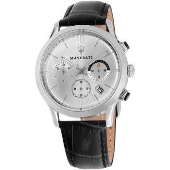 Ceasuri & Bijuterii Bărbați Ceasuri Analogice Maserati R8871633001, Quartz, 42mm, 5ATM Argintiu