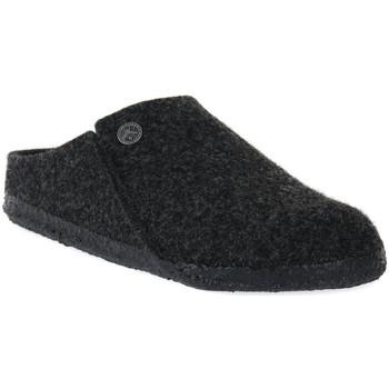 Pantofi Papuci de casă Birkenstock ZERMATT ANTRACITE WOOL FELT CALZ S Grigio