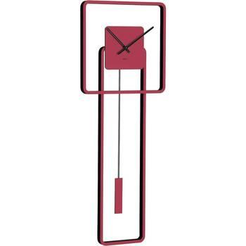Casa Ceasuri Hermle 61022-362200, Quartz, Red, Analogue, Modern roșu