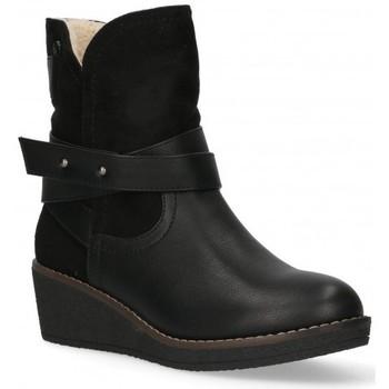 Pantofi Femei Botine Etika 55086 Negru