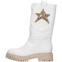 Pantofi Femei Botine Vsl 7185/INN WHITE