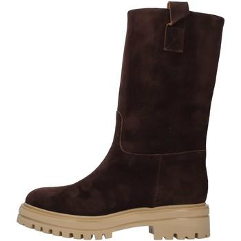 Pantofi Femei Botine Vsl 7205/INN BROWN