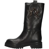 Pantofi Femei Botine Vsl 7185/INN BLACK