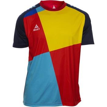Îmbracaminte Băieți Tricouri mânecă scurtă Select T-shirt enfant  Player Pop Art bleu/jaune/rouge