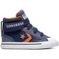 Pantofi Copii Pantofi sport stil gheata Converse Pro blaze strap hi albastru