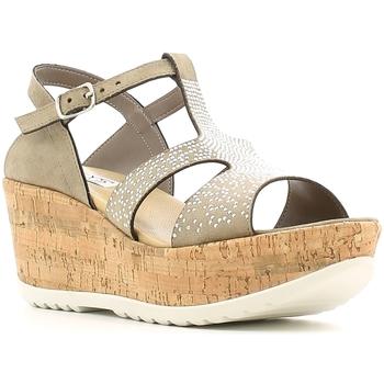 Pantofi Femei Sandale  Keys 5457 Maro