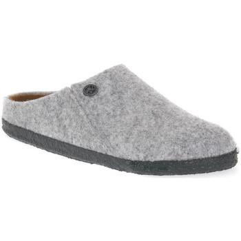 Pantofi Papuci de casă Birkenstock ZERMATT GREY WOOL FELT CALZ S Grigio