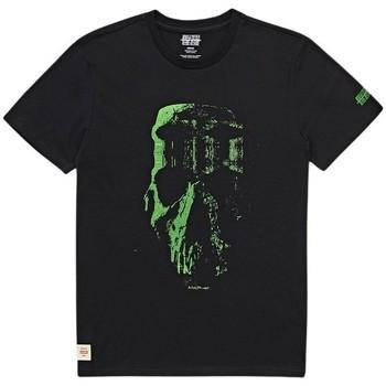 Îmbracaminte Bărbați Tricouri mânecă scurtă Globe T-shirt  Refuse Skull noir