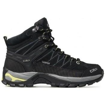 Pantofi Femei Drumetie și trekking Cmp Rigel Mid WP Negre