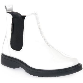 Pantofi Băieți Ghete Naturino N01 PICCADILLY WHITE Bianco
