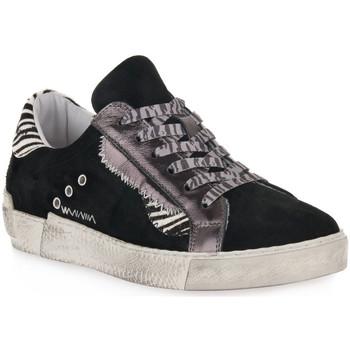Pantofi Femei Pantofi sport Casual At Go GO 4102 VELOUR NERO Nero