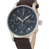Ceasuri & Bijuterii Bărbați Ceasuri Analogice Jacques Lemans 1-1935A, Automatic, 44mm, 10ATM Argintiu