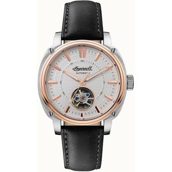 Ceasuri & Bijuterii Bărbați Ceasuri Analogice Ingersoll I08101, Automatic, 46mm, 5ATM Argintiu