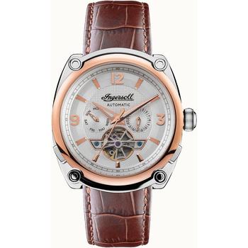 Ceasuri & Bijuterii Bărbați Ceasuri Analogice Ingersoll I01103B, Automatic, 45mm, 5ATM Argintiu