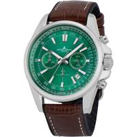 Ceasuri & Bijuterii Bărbați Ceasuri Analogice Jacques Lemans 1-2117D, Quartz, 44mm, 20ATM Argintiu