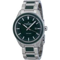 Ceasuri & Bijuterii Bărbați Ceasuri Analogice Jacques Lemans 1-2116E, Quartz, 40mm, 10ATM Argintiu