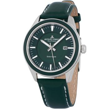 Ceasuri & Bijuterii Bărbați Ceasuri Analogice Jacques Lemans 1-2116B, Quartz, 40mm, 10ATM Argintiu