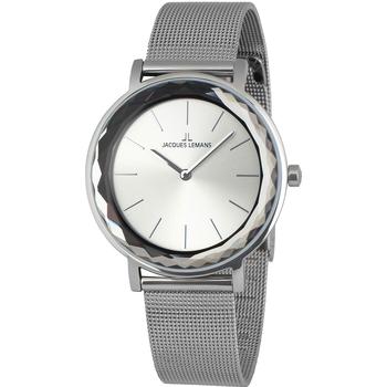 Ceasuri & Bijuterii Femei Ceasuri Analogice Jacques Lemans 1-2054F, Quartz, 37mm, 5ATM Argintiu