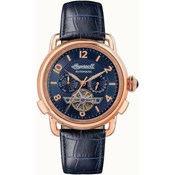 Ceasuri & Bijuterii Bărbați Ceasuri Analogice Ingersoll I00902B, Automatic, 44mm, 5ATM Auriu